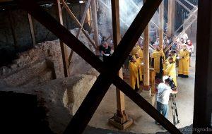 У Ніжняй царкве Старога замка ў Гродне адслужаць літургію па-беларуску