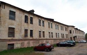 Офис - за 900 тысяч рублей, казарма – за 25,5 рублей. В историческом центре Гродно выставили на торги два объекта