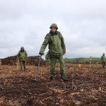 В Лидском районе на торфоразработках обнаружили более 120 снарядов