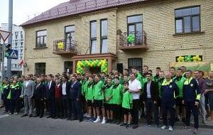 В Гродно на Лермонтова открыли общежитие для молодых футболистов
