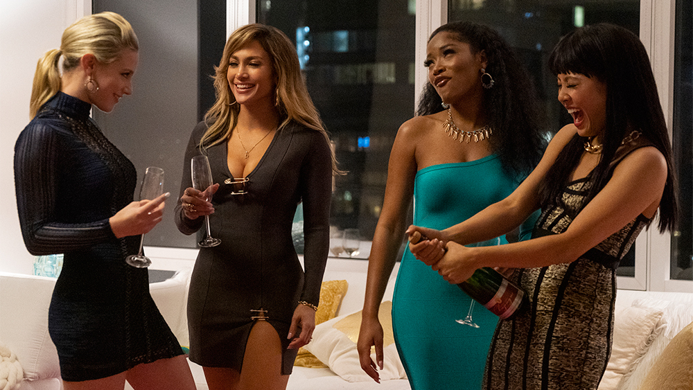 Стриптизерши / Hustlers / Lili Reinhart, Jennifer Lopez, Keke Palmer, and Constance Wu star in HUSTLERS