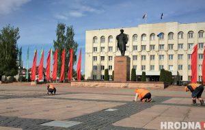 «Если б я был мэром». Гродненец мечтает убрать из центра статую Ленина и переименовать улицы