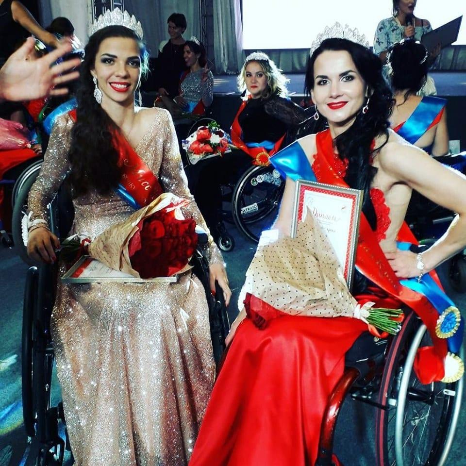 Колясочница из Гродно победила на международном конкурсе красоты в Питере