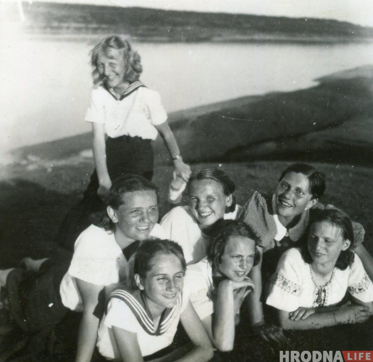 Каляровы Гродна 1930-50-х: працягваем размалёўваць чорна-белыя фота гродзенцаў