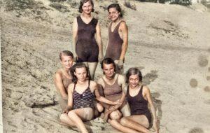 Цветной Гродно 1930-50-х: продолжаем раскрашивать черно-белые фото гродненцев