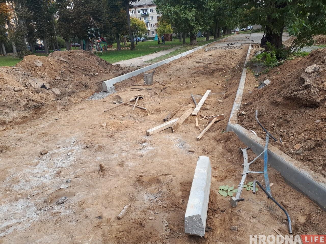 На Гагарына на месцы спартыўнай пляцоўкі з'явіцца паркоўка для аўтамабіляў