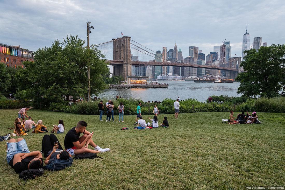 Бруклин Бридж Парк, 2019 г.