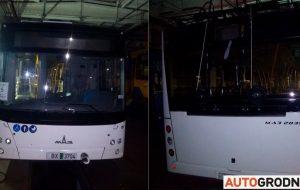 """В Гродно прибыл первый автономный троллейбус МАЗ: умеет """"приседать"""" на остановках и оснащен USB-зарядками"""
