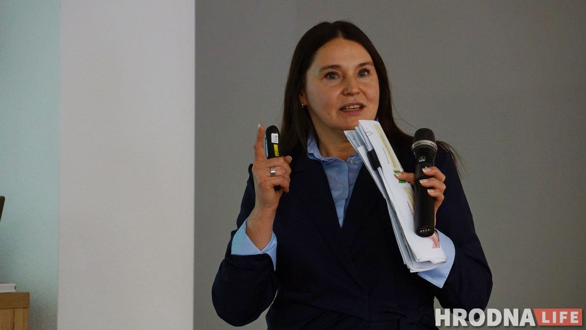 """Святлана Кончыц з """"Белаграпрамбанк"""" расказала аб """"жаночым твары"""" бізнесу і магчымасцях падтрымкі на старце бізнесу"""