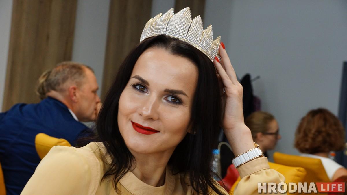 Аксана Якуцэвіч, пераможца конкурса прыгажосці сярод жанчын на вазку