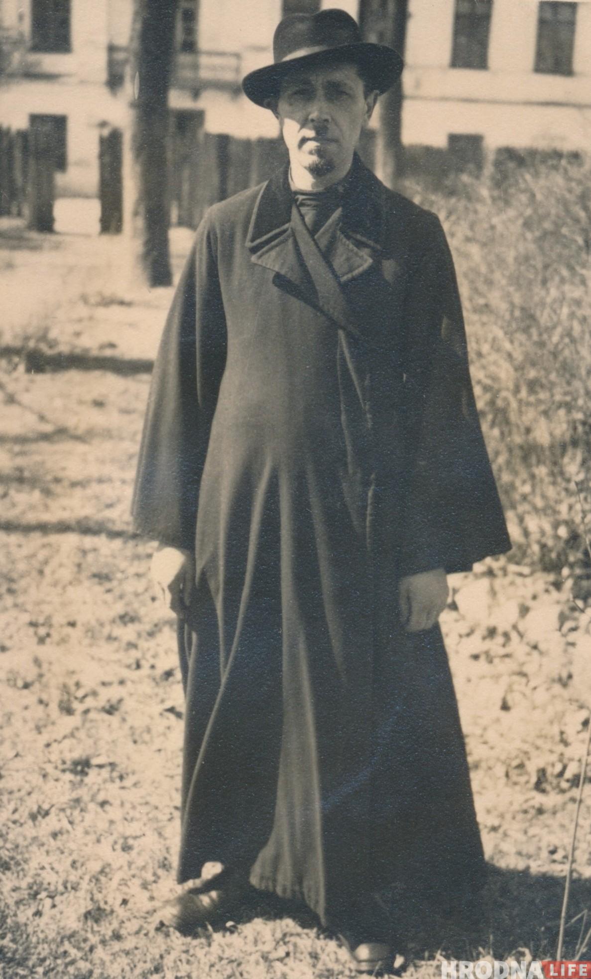 Бацька Таццяны Аляксей Рымарчук, 1930-я гг