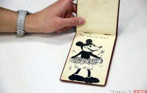 Микки Мауса знали в Гродно еще в 1930-х: смотрите, какой блокнот нам показали читатели