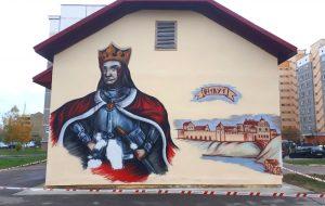 Витовта все-таки спасут! Граффити на Пушкина будут восстанавливать