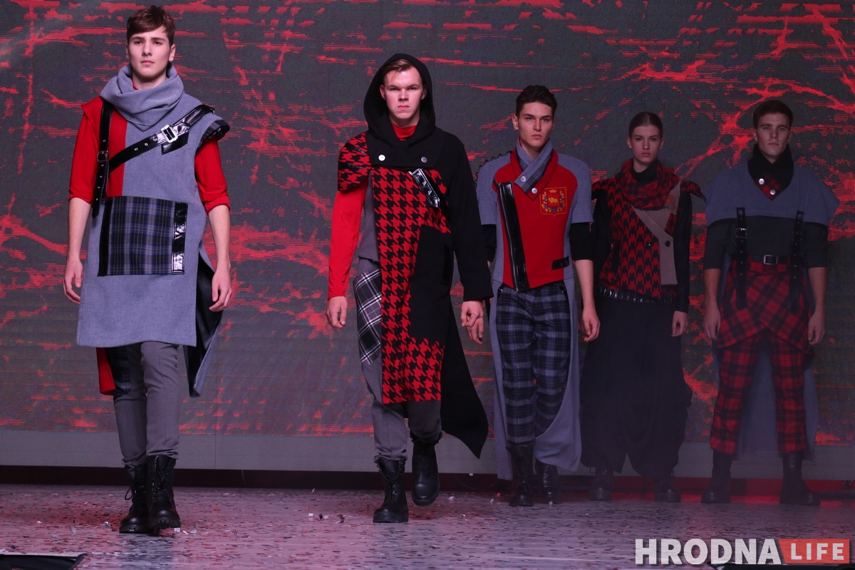 Grodno Fashion Show коллекция одежды Четвертый регион Тамара Дужик