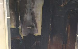 В Гродно на Пушкина из пожара спасли пенсионера