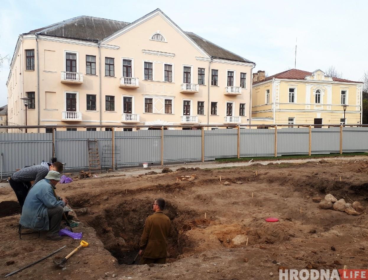 археологические раскопки на Замковой Замковая