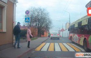 ГАИ назвали опасный пешеходный переход в Гродно