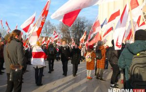 Как в Вильнюсе прошло перезахоронение Кастуся Калиновского и других повстанцев