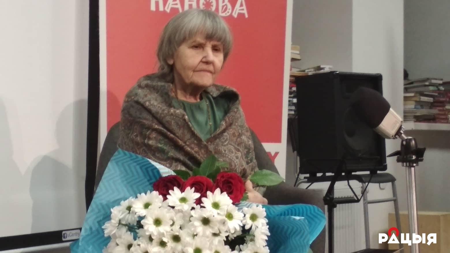 Данута Бічэль: Нікуды не прападзе Беларусь. Паэтка адзначыла дзень народзінаў прэзентацыяй новай кнігі