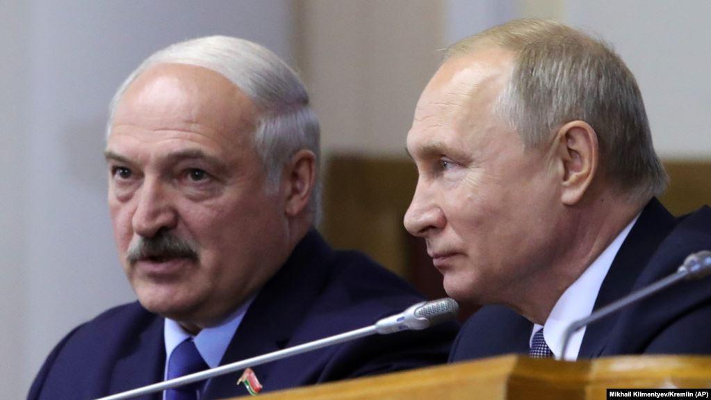 Лукашэнка на перамовах з Пуціным расказаў, чаго хоча Беларусь