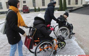 Проверили, насколько туристический Гродно доступен для людей с инвалидностью