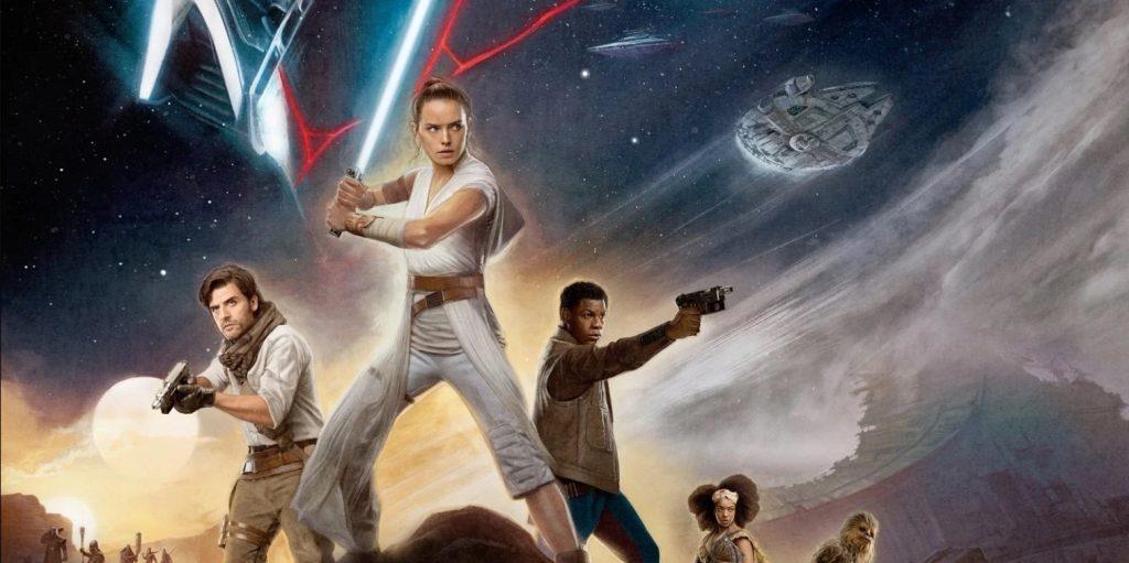 star wars rise of skywalker poster звездные воины скайуокер восход