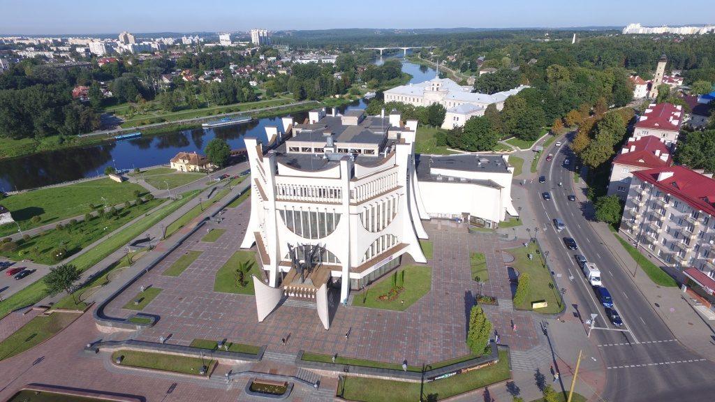 драмтеатр архитектура советского модернизма брутализм