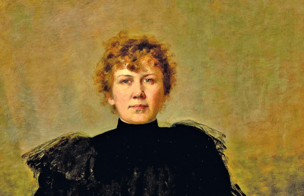 Марыя Гажыч Maria_Gażycz_-_Autoportret_z_paletą_1896 Muzeum narodowe w Warszawie