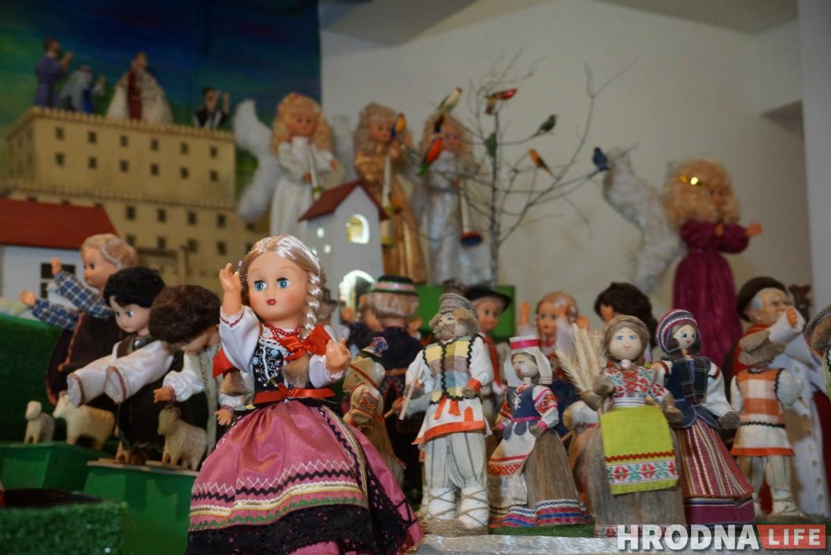 Навошта ў касцёле 150 лялек. Як у Гродне стварылі самую вялікую рухомую батлейку
