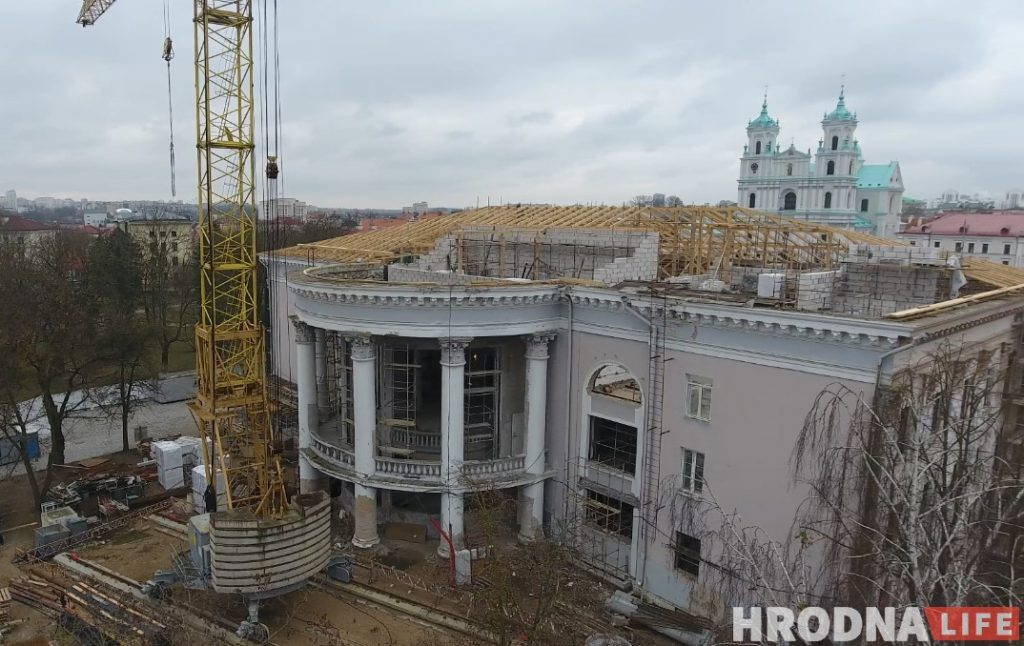 палац культуры текстильщиков Фота: Уладзімір Аплевіч