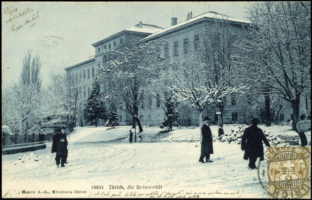 Універсітэт Цюрыха каля 1908