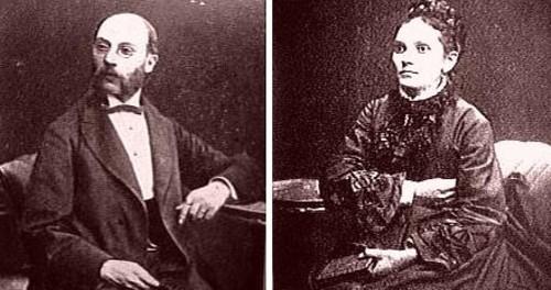 Бацькі Людвіка - Марк і Разалія Заменгофы