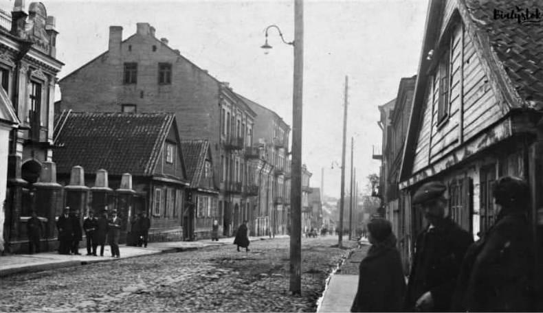 Вуліца ў Беластоку, на каторай нарадзіўся Людвік. Пасля яго смерці ёй дадзена імя Заменгофа