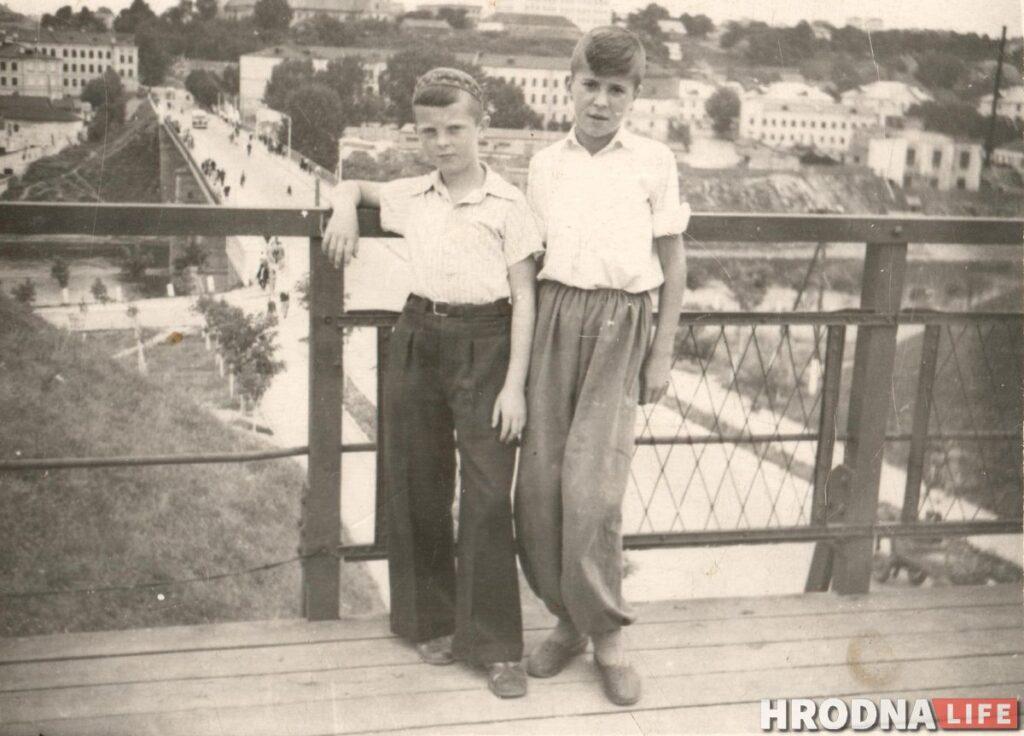 Гродненцы в послевоенные годы. Фото из архива семьи Колупайло / послевоенный Гродно