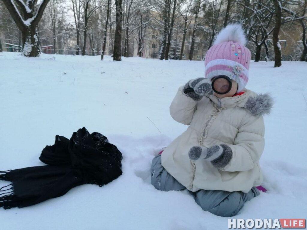 зимние игры с детьми