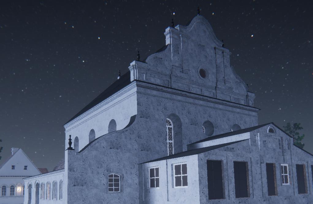 Ацаніць інтэр'ер слонімскай сінагогі ў XVII стагоддзі праз VR-шлем. У Беларусі стварылі першую віртуальную рэканструкцыю будынка