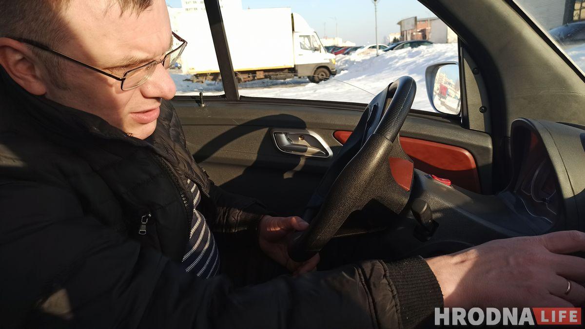 Сергей Жильцов мини электромобиль