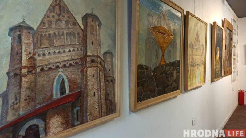 На выставке показаны работы Алеся Пушкина разной тематики и разных лет. Фото: Ирина Новик