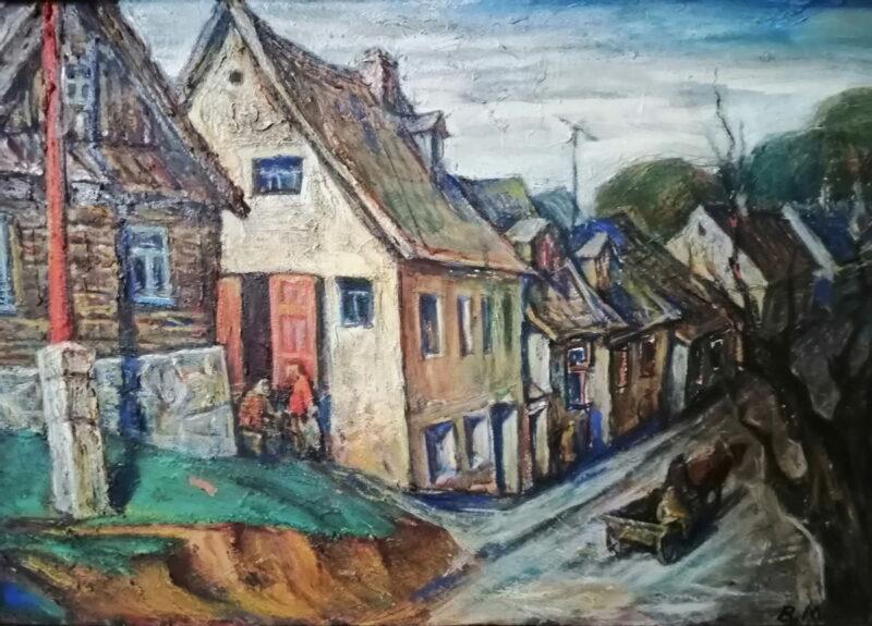 """Уладзімір Мурахвер, """"Навагрудак"""", 1960-я гг."""