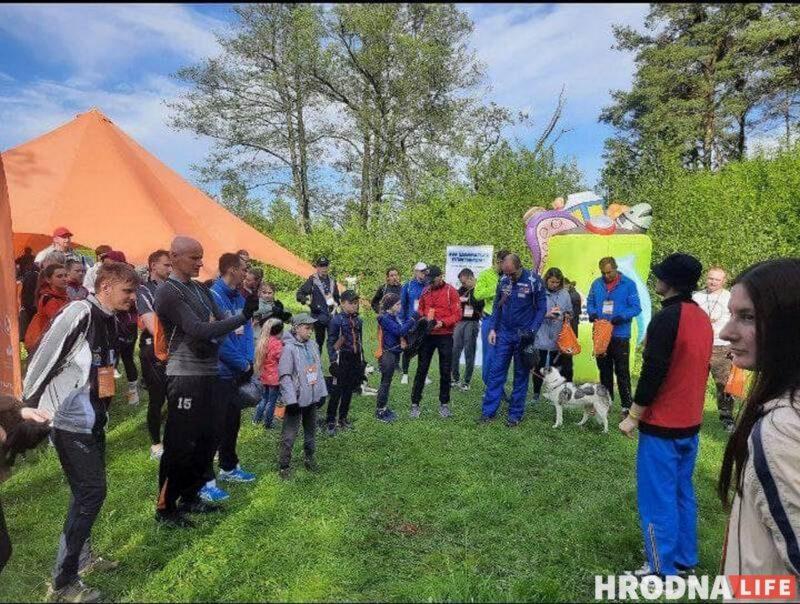 плоггинг забег сбор мусора в Гродно