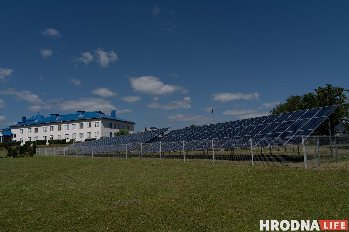 «Сталіца зялёнай энергетыкі». Як у Навагрудку развіваюць аднаўляльныя крыніцы энергіі