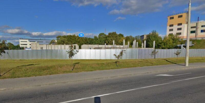 Бесконтактная мойка и комплекс технического обслуживания авто может появиться на улице Репина
