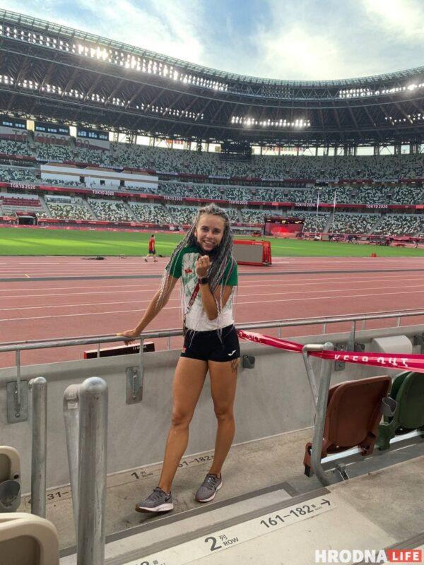 Александра Хильманович, Олимпийские игры 2020 в Токио, Олимпиада, Кристина Тимановская