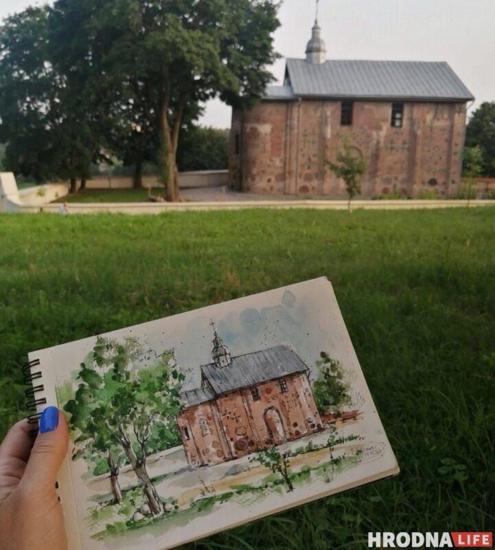 Катерина Забелина, художница, выставка Любимый Гродно